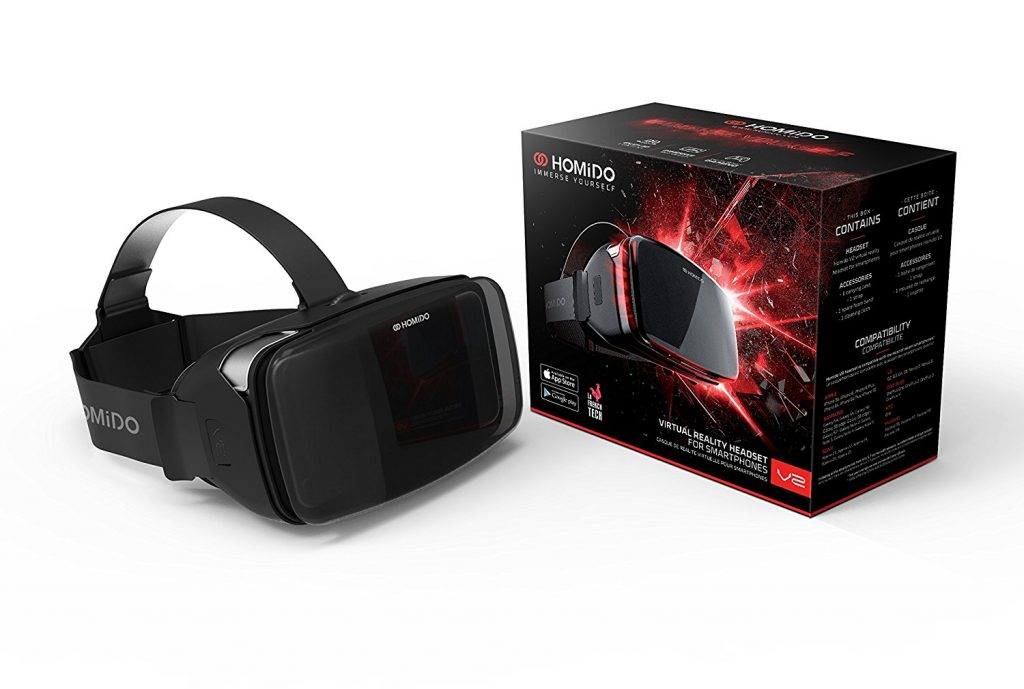 Homido V2 Top 5 VR Headsets for Watching Porn