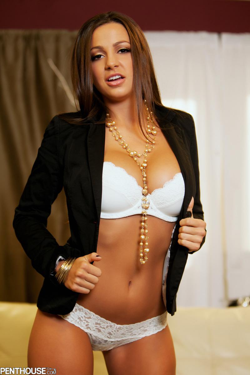 Sexy Smart Secretary Image Photo