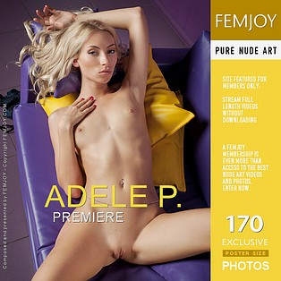 Premiere : Adele P from FemJoy, 14 Nov 2012
