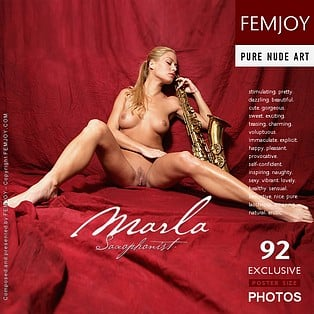 Saxophonist : Marla from FemJoy, 02 Mar 2007