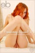 Presenting Alyssa F 2 : Alyssa F from Erotic Beauty, 29 Oct 2013