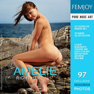 Right Here : Amelie from FemJoy, 13 Jul 2012