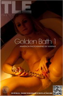 Golden Bath 1 : Anastacia from The Life Erotic, 12 May 2012