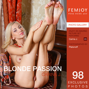 Blonde Passion : Carina J from FemJoy, 27 Jun 2014