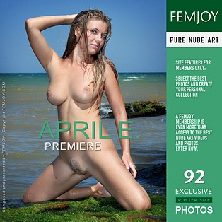 Premiere : April E from FemJoy, 31 Aug 2012