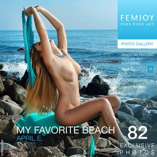 My Favorite Beach : April E from FemJoy, 09 Nov 2014