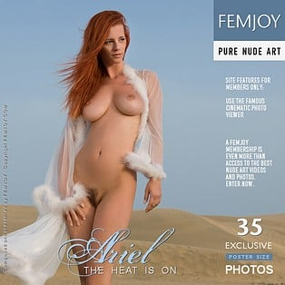 The Heat Is On : Ariel A from FemJoy, 25 Nov 2012