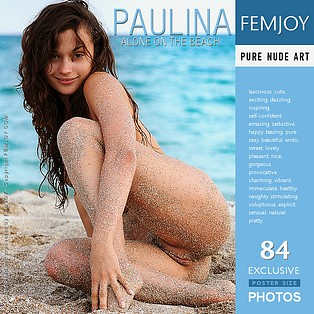 Alone On The Beach : Paulina from FemJoy, 23 Aug 2008