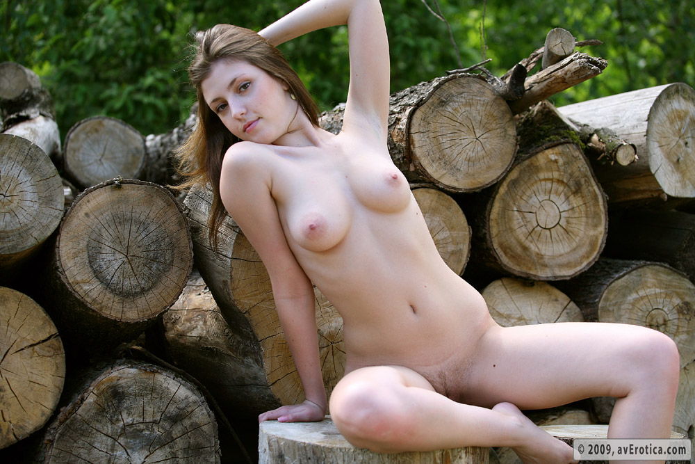 Woods naked sex outdoor