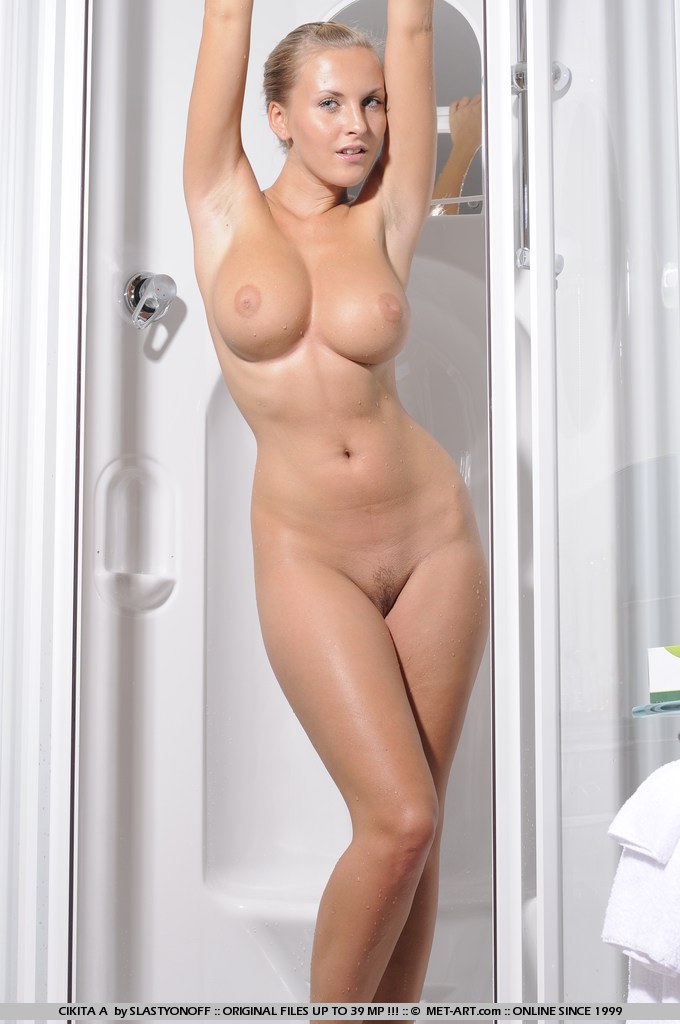 Nice Tits In The Shower