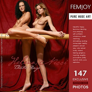 Theatre Rouge : Nicci, Helena from FemJoy, 17 Dec 2006