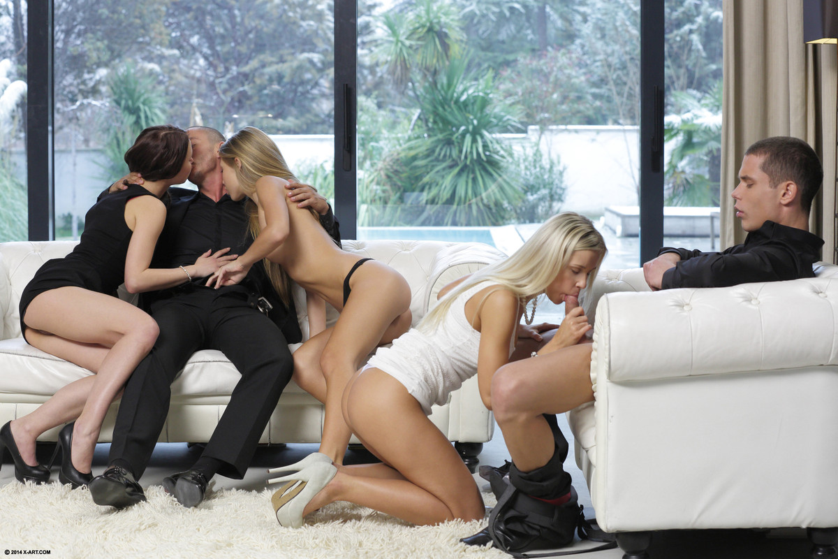 Blond nude sex in group, confessional sex porn