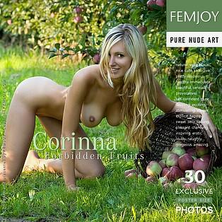 Pornstar Corinna Femjoy on Nude Model Pics