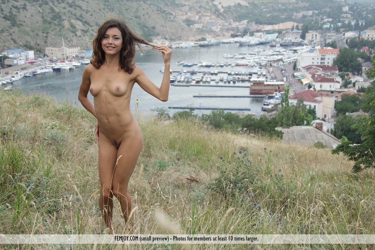 Nude In River 37