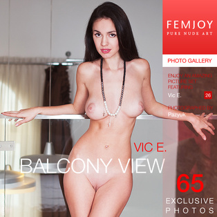 Balcony View : Engelie from FemJoy, 23 Nov 2014