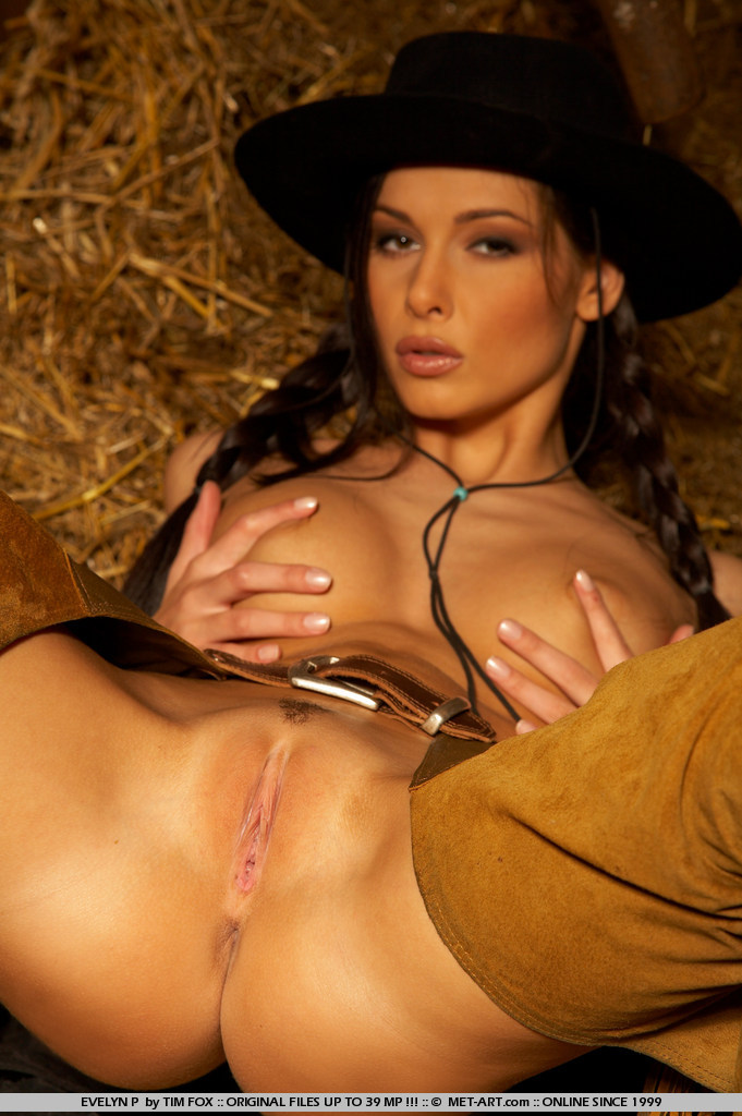 Wearing naked chaps cowgirls