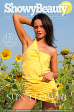 Sun Flower : Evgeniya A from Showy Beauty, 04 May 2012