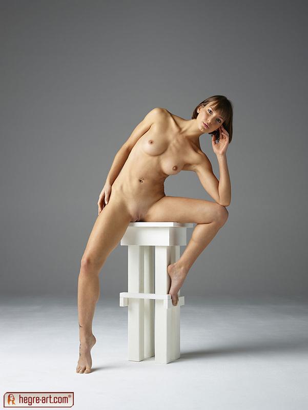Flora In Studio Sitting By Hegre-Art 18 Nude Photos Nude -1633