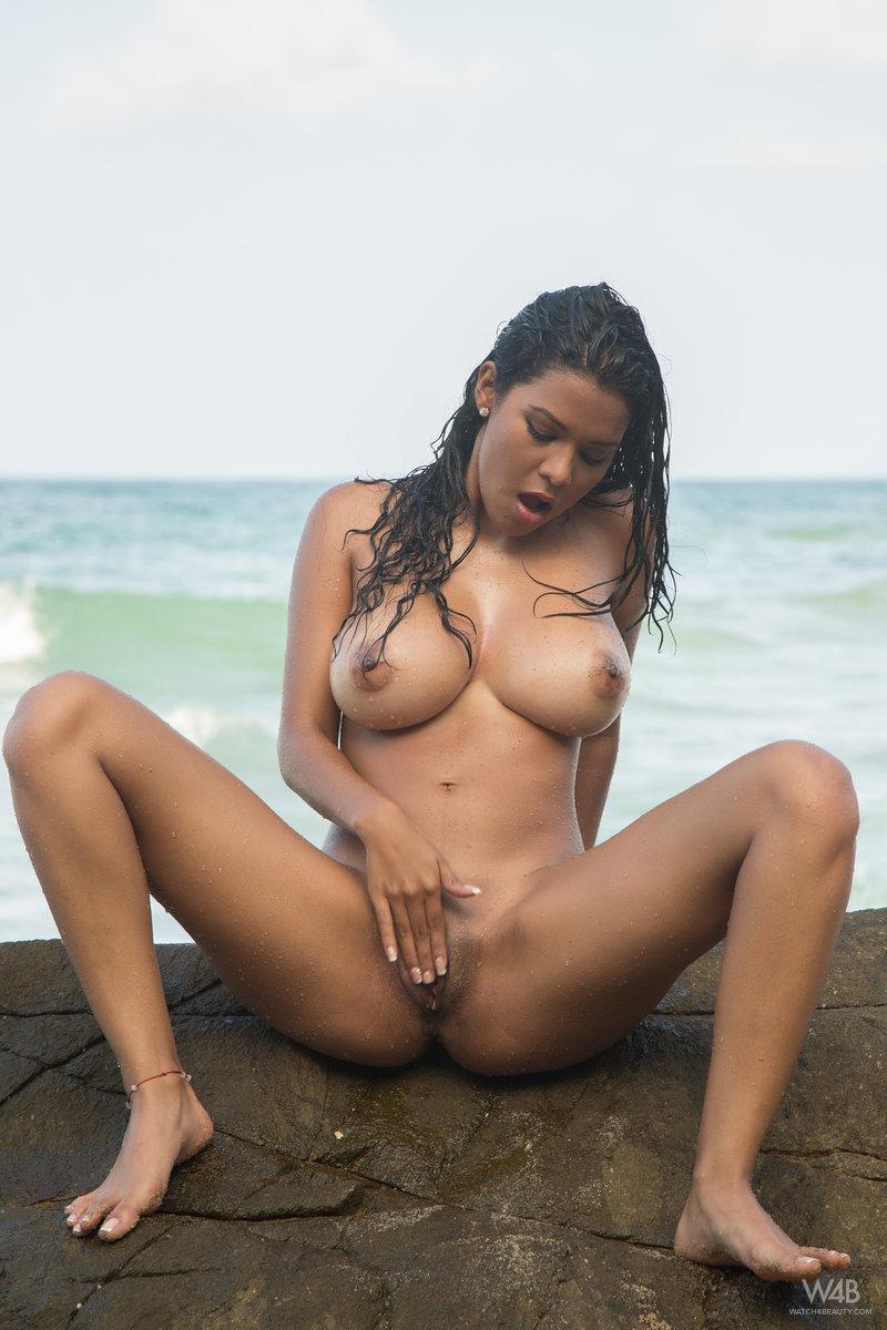 Kendra Roll In Tropical Beach By Watch 4 Beauty 16 Nude -9527