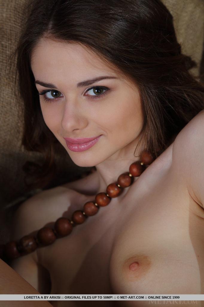 Loretta brown nude — photo 9