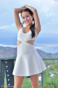 Little White Dress: Meagan #15 of 16