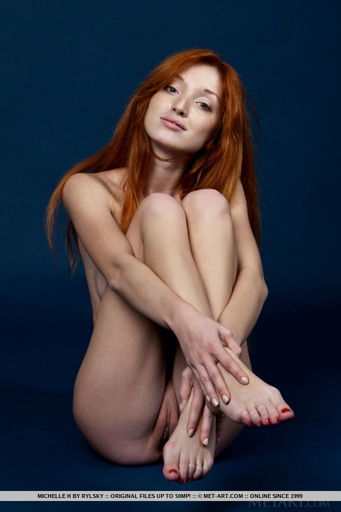 Michelle feet porn model