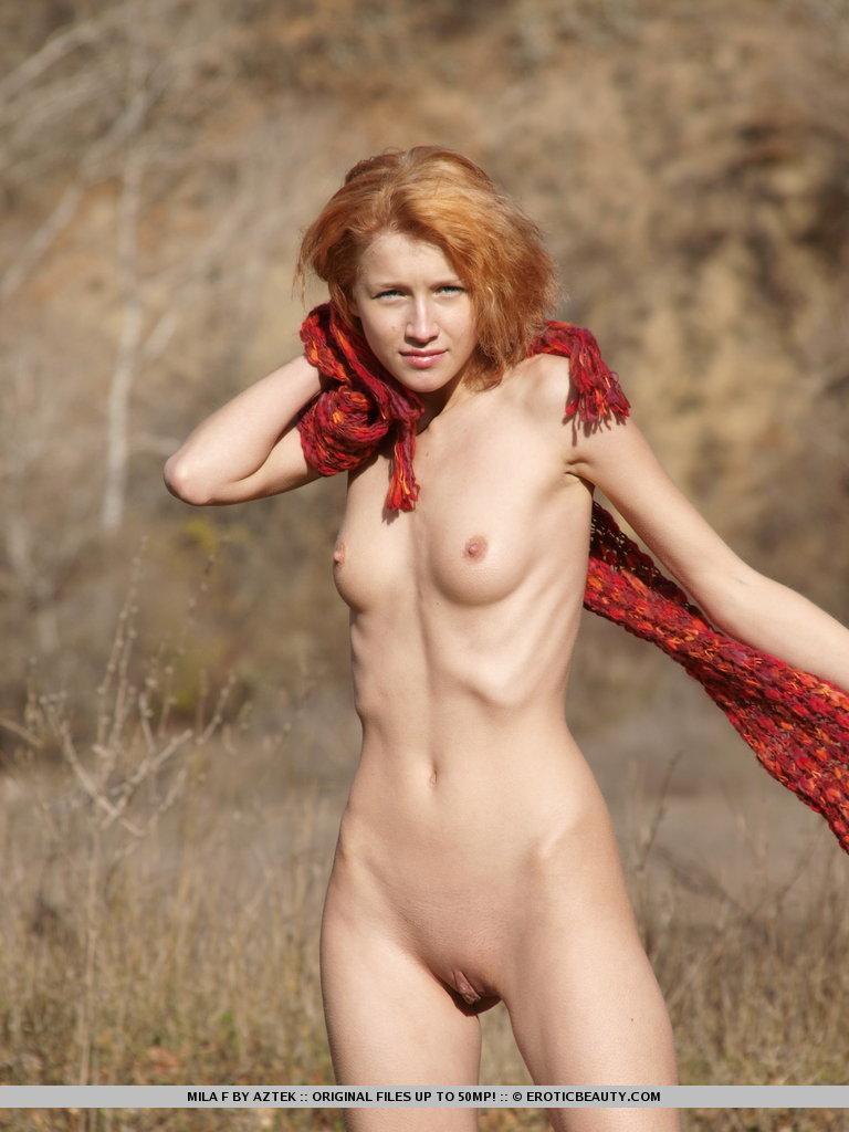 Mila F In Auburn Kiss By Erotic Beauty 17 Nude Photos -2699