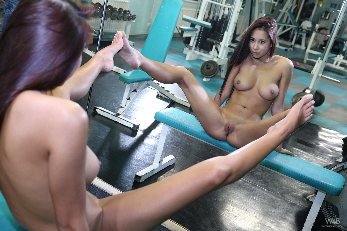 Consider, Naked girl exercise picture