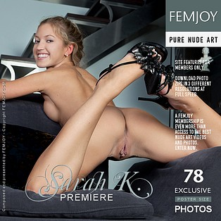Premiere : Sarah K from FemJoy, 29 Jan 2012