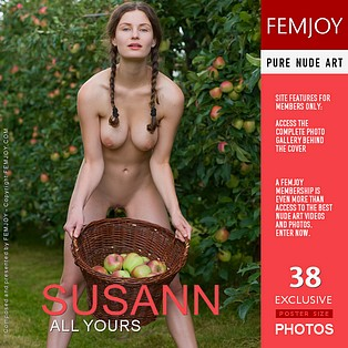 All Yours : Susann from FemJoy, 28 Sep 2012