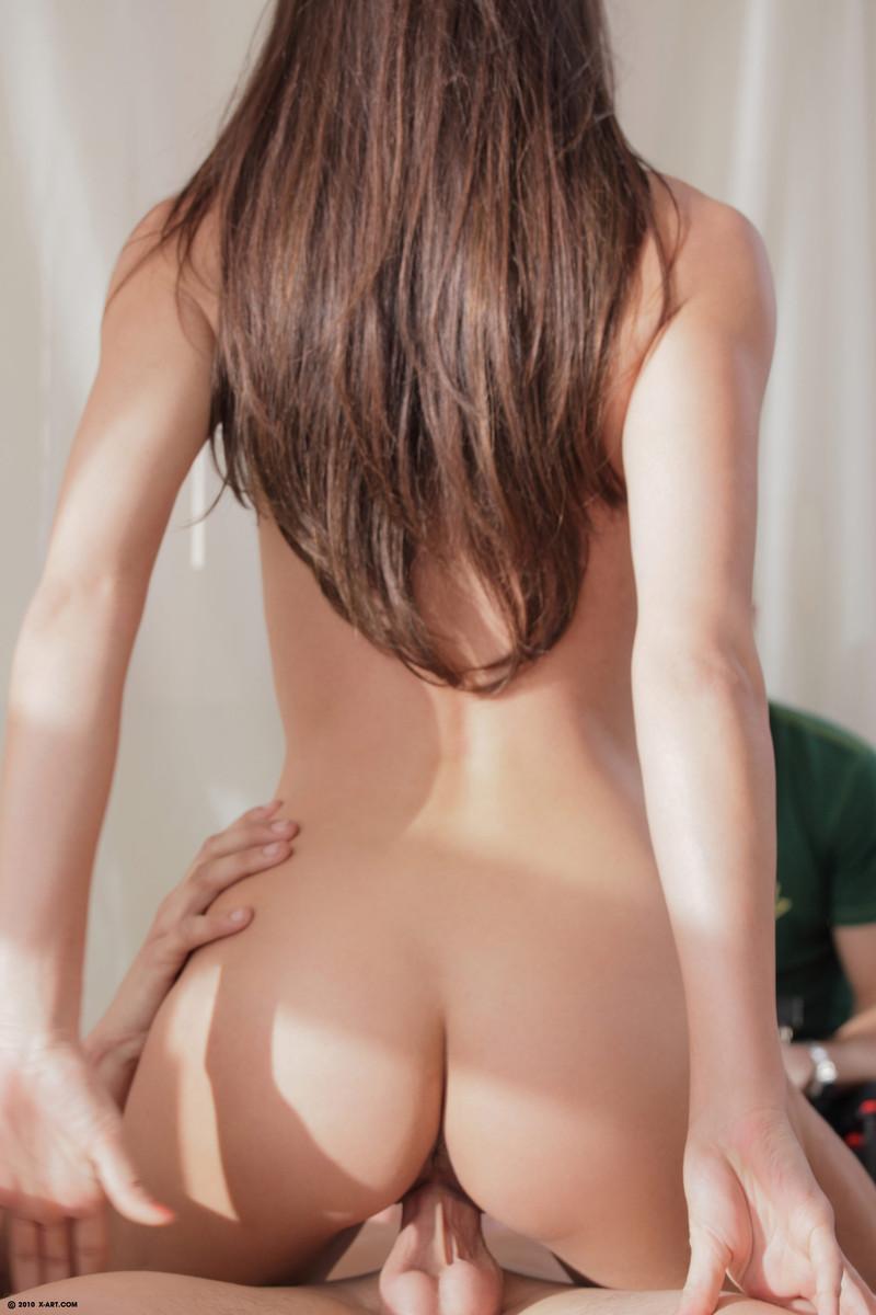 Kuuma ohut musta nude nude-1594