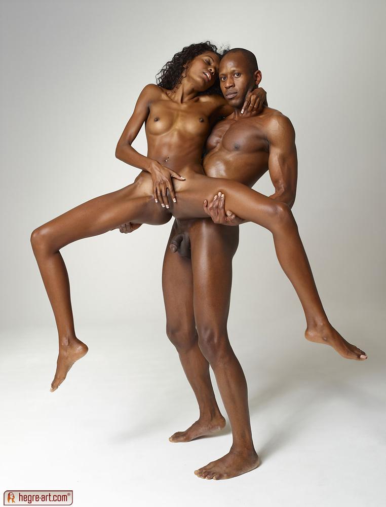 Celebrity nude ebony models