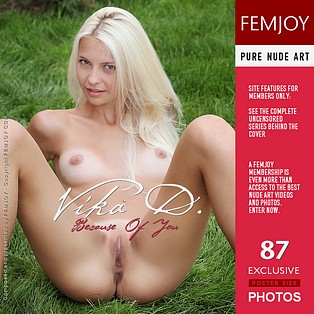 Because Of You : Vika D from FemJoy, 19 Dec 2011